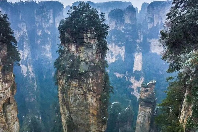 2-Day Zhangjiajie Private Tour with Glass Bridge, Avatar Hill & Tianmen Mountain