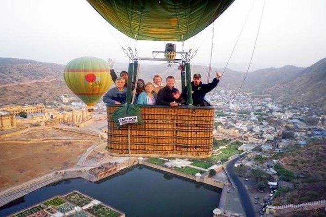 Hot Air Balloon Safari in Jaipur with Pick & Drop in A/C Transportation