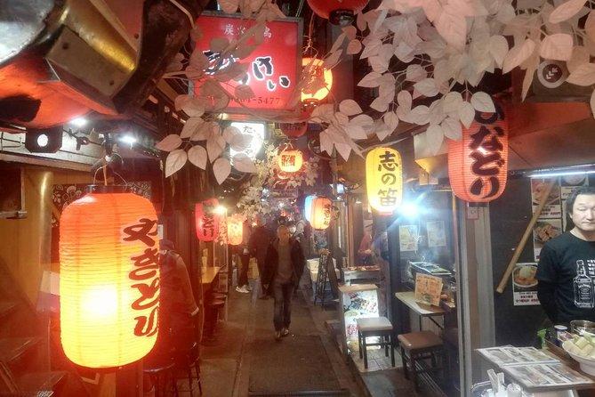 Shinjuku Izakaya and Golden gai bar hopping tour
