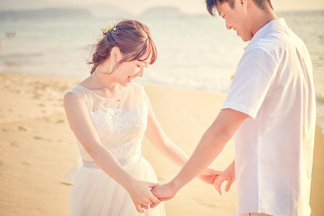 Honeymoon photoshoot in Khao Lak
