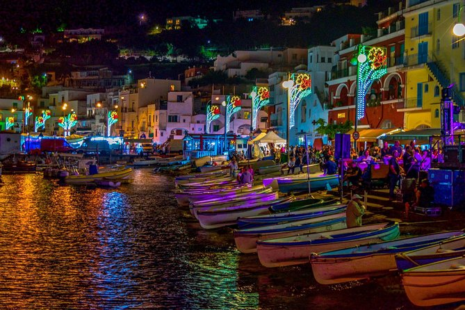 Capri day & night small group tour with aperitif