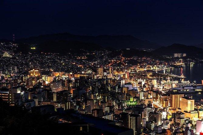 Waterfall & Nagasaki from Fukuoka :microbus 1-15pax (7h)