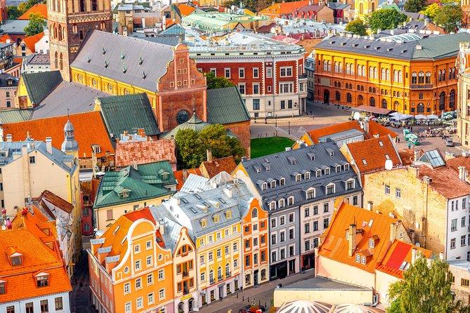 Riga Old Town walking tour & Riga Central Market walking tour