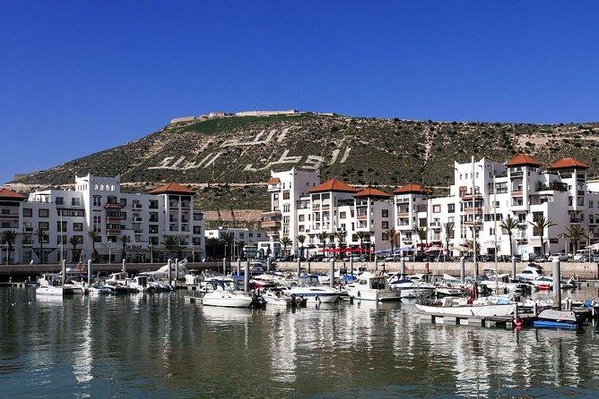 Agadir city tour with Massage
