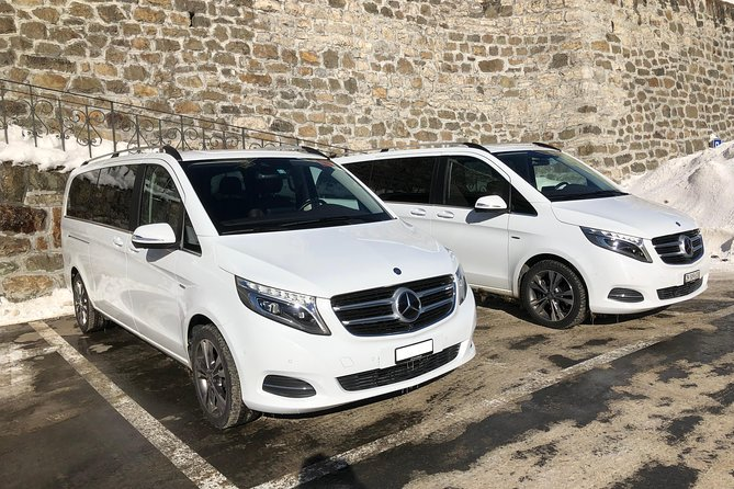 Private transfer from Andermatt to Zurich Airport