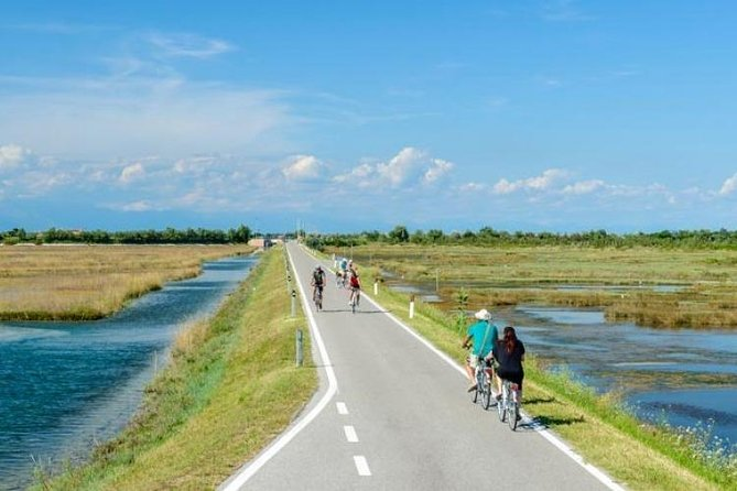 The cycle route of the islands of Venice E5