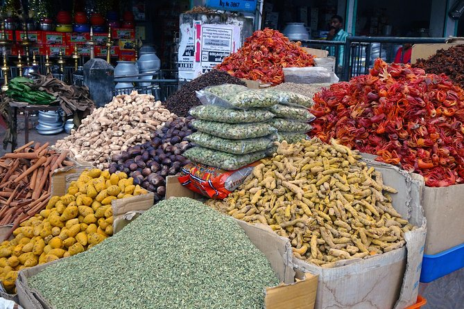 Old Delhi walk, Asia's largest spice market and India's mega kitchen