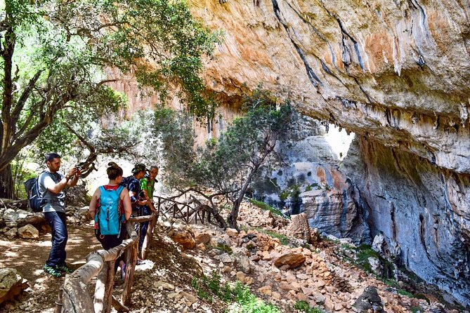 Trekking to the lost village of Tiscali in Sardinia