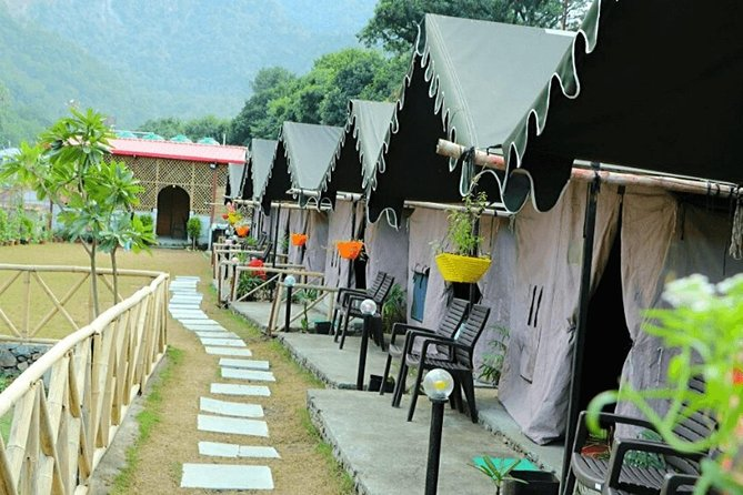 Beautiful Swiss Camping Experience in Rishikesh with Rafting