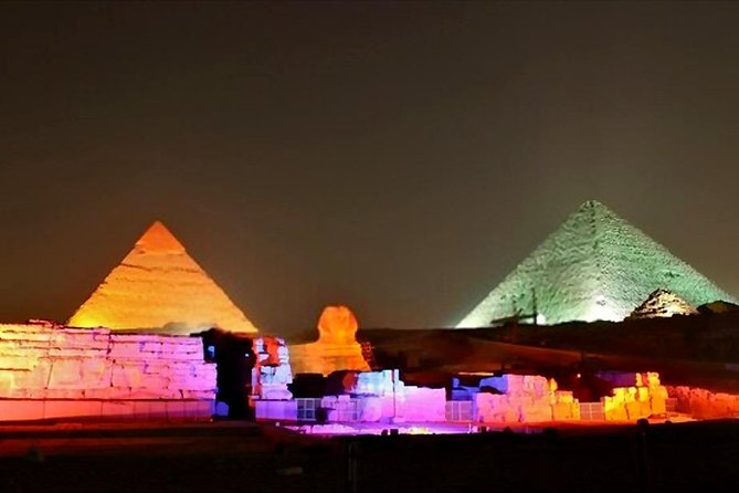 Sound and Light Show Cairo