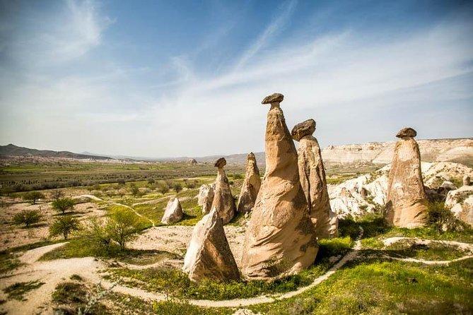 Tour to Kaymakli Underground City, Fairy Chimneys, Cavusin, Pigeon & Red Valleys