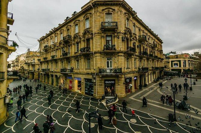 Completely Free Baku City Walking Tour
