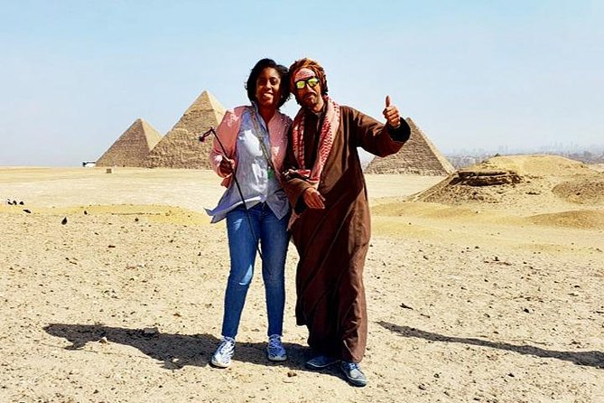 Private Full-Day Tour: Giza Pyramids, Egyptian Museum with Lunch and Camel Ride photo 1
