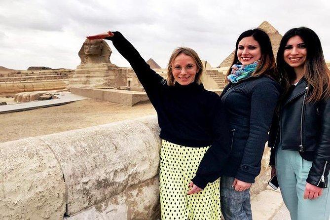 8 Hrs Tour to Giza Sakkara Dahshur with 30 Mintues camel ride all inclusive