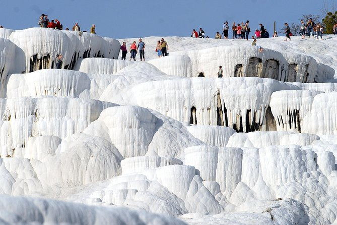 White Pamukkale Tour From Pamukkale - Small Group