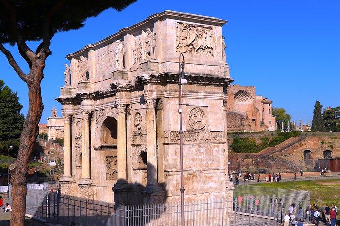 Skip the line Colosseum , Roman Forum & Palatine Hill Complete Tour
