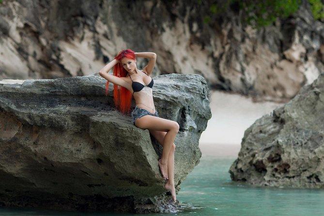 Professional Photoshoot at a Virgin Beach