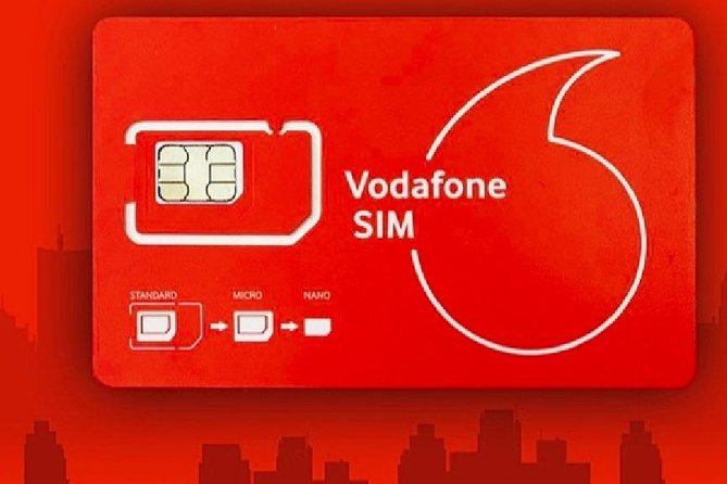 New Zealand Vodafone Travel SIM