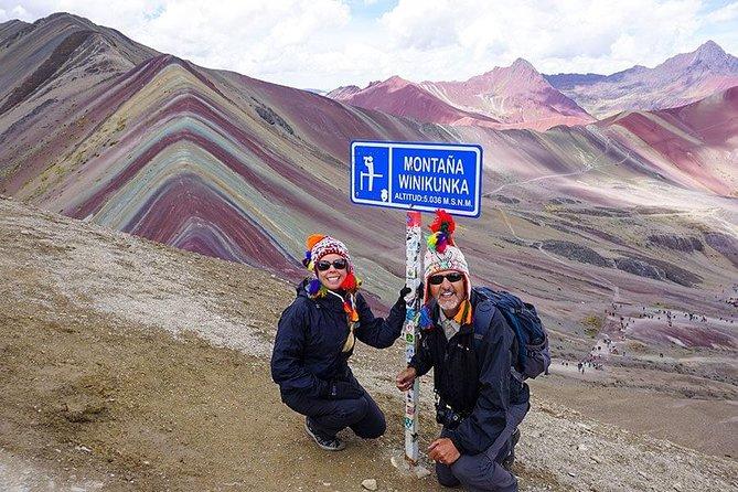 Rainbow Mountain Tour Full day - Peru hike - private service