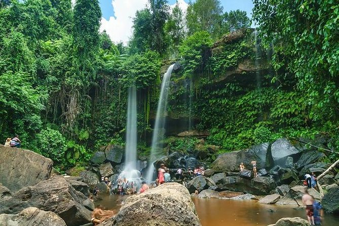 Phnom Kulen, 1000 Linga River and Waterfall Small Group Day - Join Tour