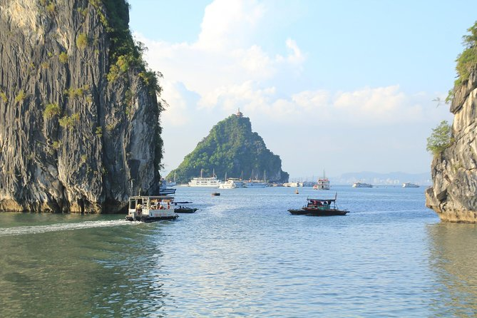 Halong bay Full Day Trip from Hanoi: Kayaking, Swimming, Titop island & Lunch photo 16