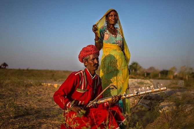 Private Tour to Thar Desert Gypsy Villages with Cultural Anthropologist