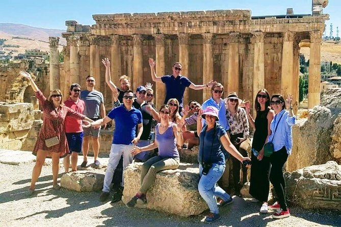 Small-Group Tour to Baalbek, Anjar and Ksara with Lunch