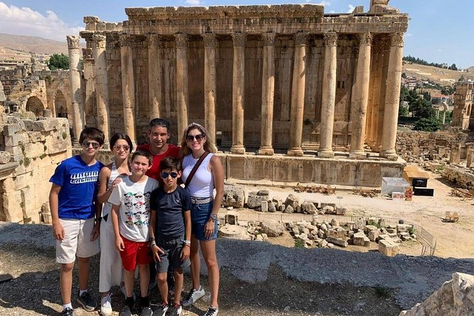Full Day Private Trip to Baalbek Anjar and Ksara from Beirut