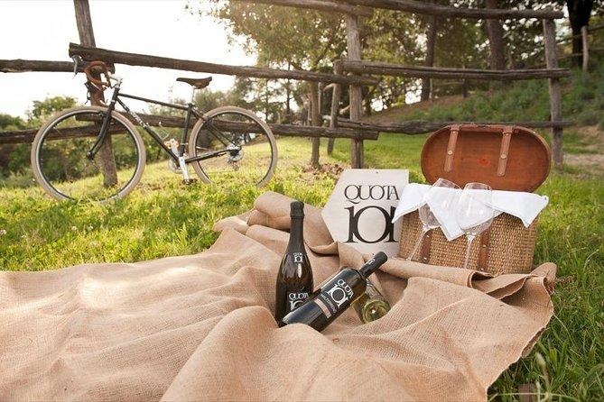 Bachelor or bachelorette party on bike for cellars
