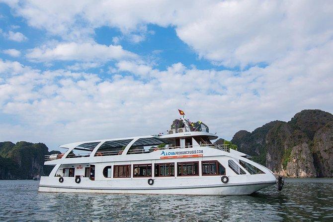 Halong Bay: Full Day Alova Premium Cruise from Hanoi