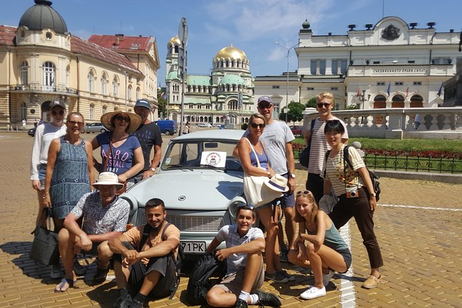 Sofia Communist History 2-Hour Tour in a Classic Trabant