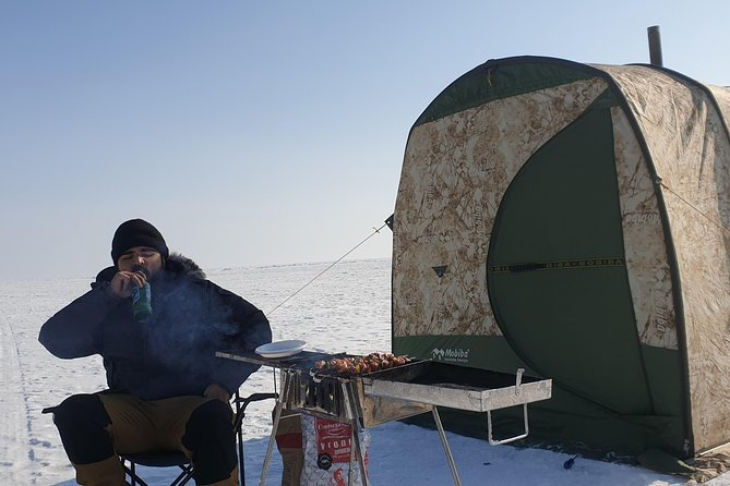 Winter adventure on the Lake Baikal photo 9