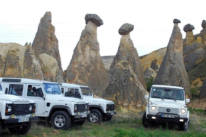 Wonderful Cappadocia on Jeep Safari