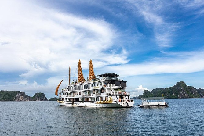 Ancora Cruise - Luxury Overnight Cruise in Ha Long Bay ( 2D1N Tour )