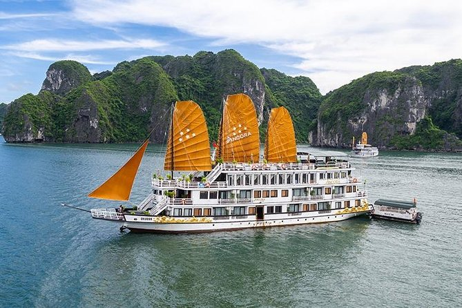 Ancora Cruise - Luxury Cruise in Ha Long Bay ( 2D1N Tour -Full Inclusions )