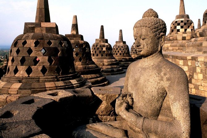 Borobudur Temple Prambanan Sunset & Ramayana Ballet one day tour