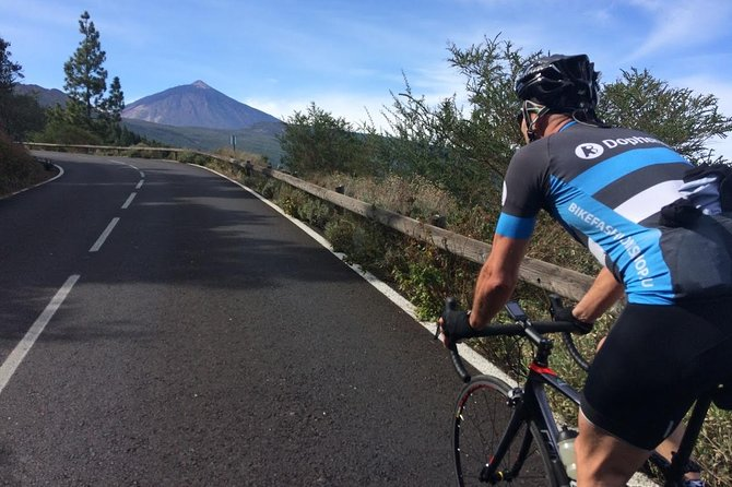 Teide road bike climb from PdC