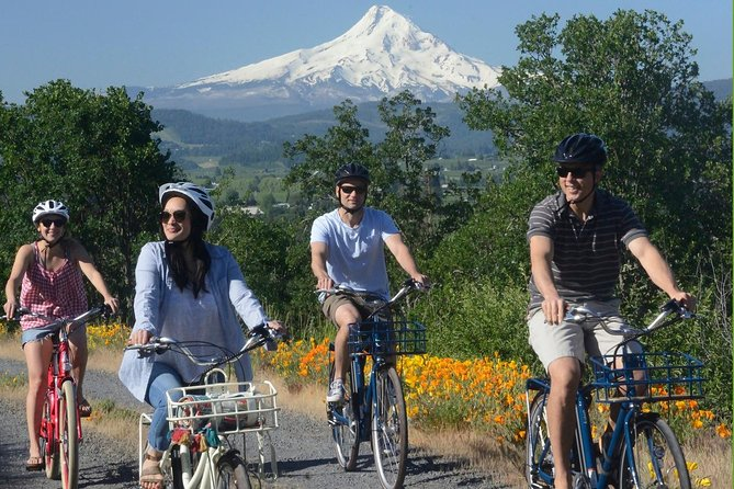 E-bike in Oregon's Columbia River Gorges