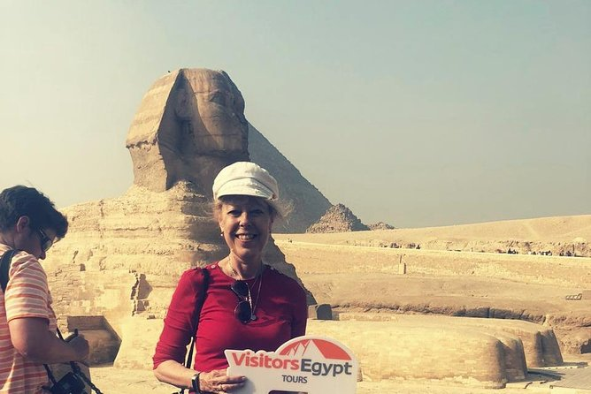 Day Tour at The Pyramids & Sphinx of Giza