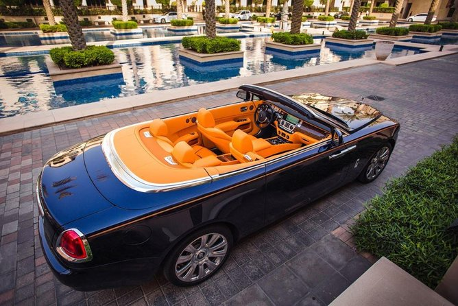 Dubai in Rolls Royce Dawn, sit behind the wheels of the most luxurious cars. photo 1