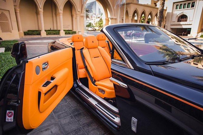 Dubai in Rolls Royce Dawn, sit behind the wheels of the most luxurious cars. photo 6