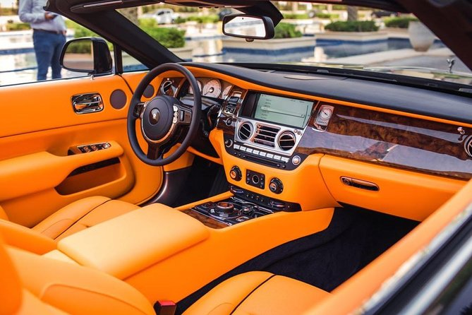 Dubai in Rolls Royce Dawn, sit behind the wheels of the most luxurious cars. photo 7
