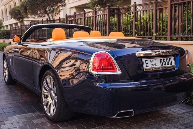 Dubai in Rolls Royce Dawn, sit behind the wheels of the most luxurious cars. photo 3