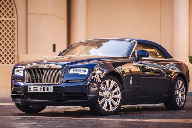 Dubai in Rolls Royce Dawn, sit behind the wheels of the most luxurious cars. photo 2