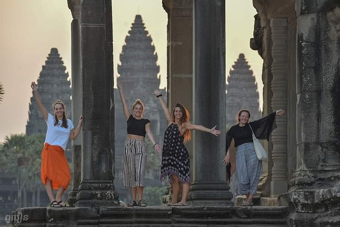 VIP Visit Sunrise Tour, Angkor Wat, Bayon,Ta Prohm & Intercity