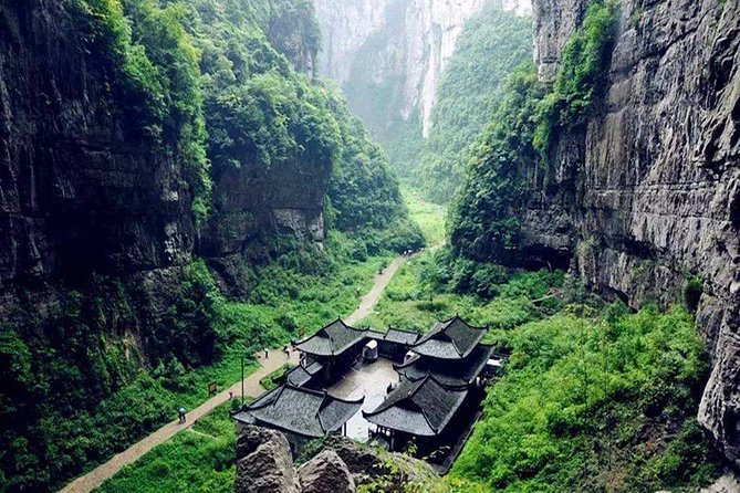 All Inclusive Private Day Tour to Wulong Karst Geological Park from Chongqing photo 3