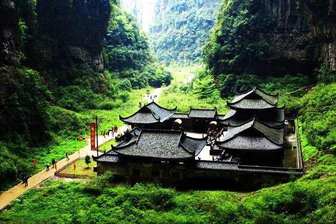 All Inclusive Private Day Tour to Wulong Karst Geological Park from Chongqing photo 2