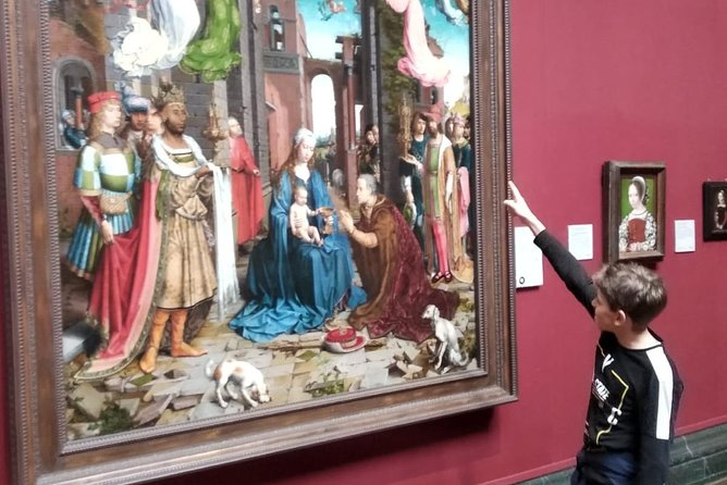 Kid-Friendly National Gallery Tour in London with Exclusive Guide