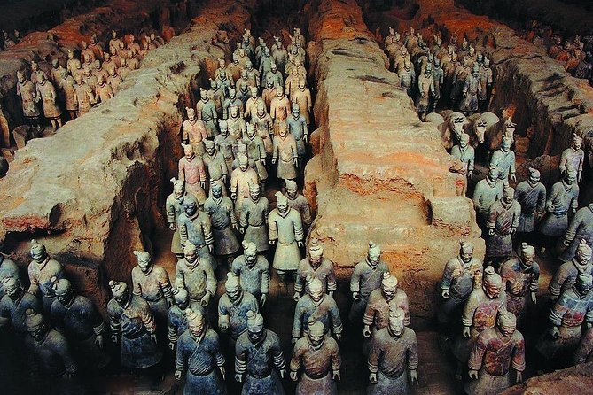 Private Day Tour to Xi'an from Chongqing by Air: Terra-Cotta Warriors &City Wall