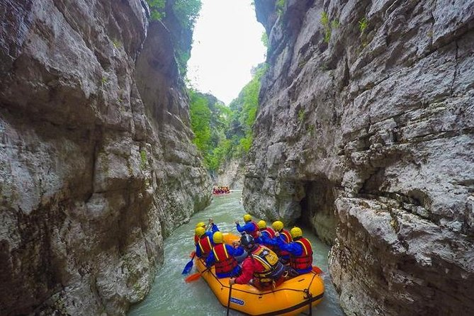 Full-Day Canyon Trip with Rafting in Osumi River Gorge